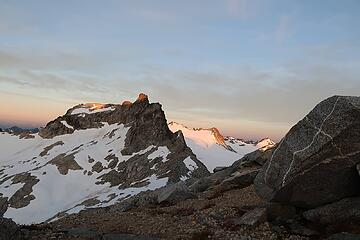 West Tenpeak from our bivy