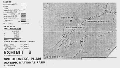 Olympic Wilderness Recommendation EIS 1974
