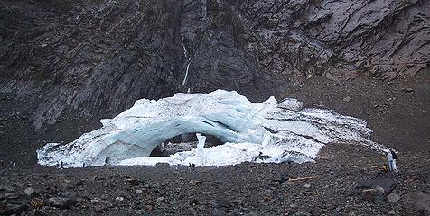 Ice Caves Glacier pan