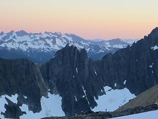 Sahale Glacier camp overnight 052