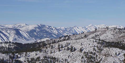 Peak Across Lake Chelan
