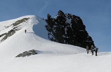 Approaching Daniel's Summit