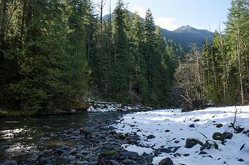 Dose River snow