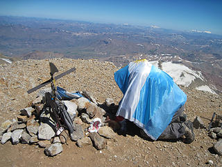 Blood, sweat and tears on the summit of El Domuyo