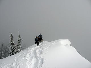 Mt. Catherine summit