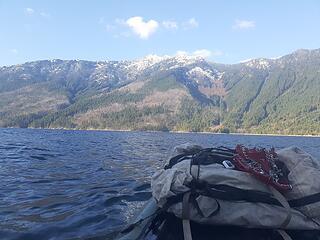 Good views of Genesis Peak