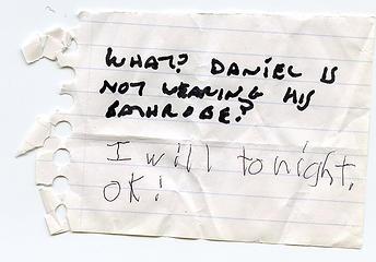 Note returned