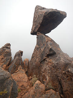 balanced rock route feature