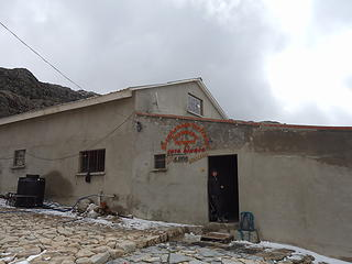 Refugio Casa Blanca at Zongo Pass