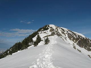 summit ridge to rock mtn