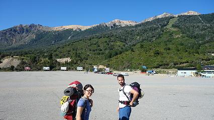 Arriving at Cerro Catedral