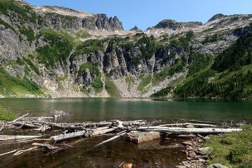 Bannock Mountain from Canyon Lake