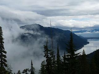 Lake Kachess from Snooze peak