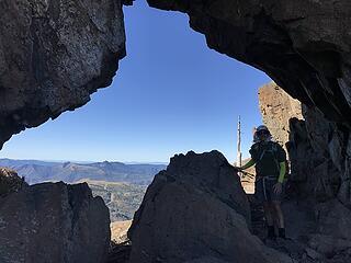 hole in the ridge