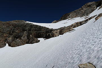 almost to the glacier