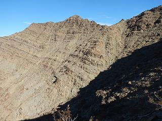 traverse to summit ridge