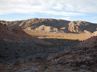 Pinto Ridge and valley