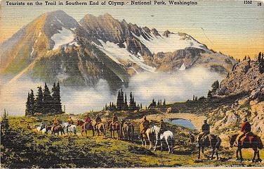 Mount Duckabush from LaCrosse Basin