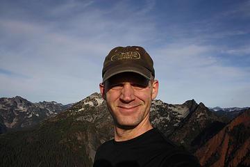 Self shot on Kendall Peak