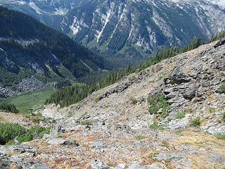 typical traverse terrain