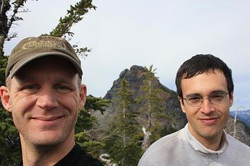 Adam and I on the summit of Alaska Mt