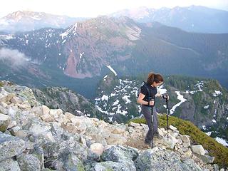 Mt.Snoqualmie descent