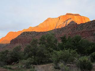 My final desert sunrise