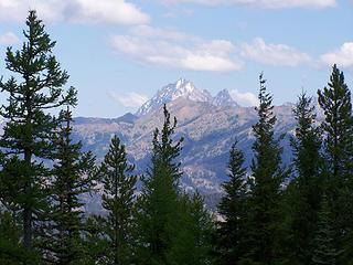 Mt. Stuart from the ridge top