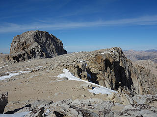 Mount Conness 12,590 summit block
