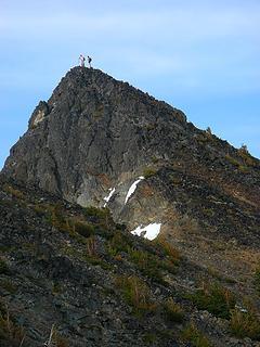 Mike & Erin on Joseph summit