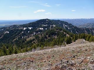 The highpoint of Driveway Ridge, 5582.'