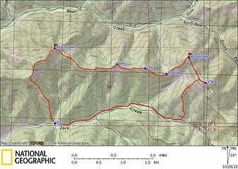 Bearjack GPS Track