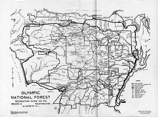 Olympic National Forest Recreation Guide No. 24, 1936**