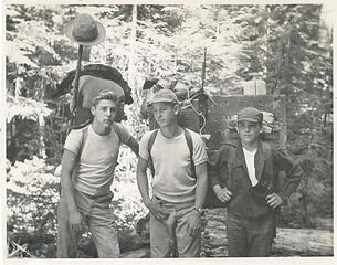 Chad - Unk. - Rhett - North Fork Skokomish - August 1951 - photo John Dewitt Kirk Jr.