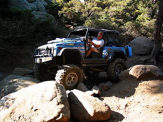 Wheeling the Rubicon