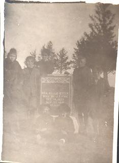 Ora Belle Grave - Children - Smith Family Cemetary Rockport Mo.