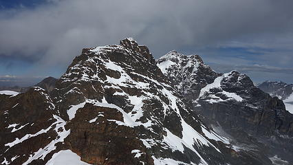 Head of the condor from the summit
