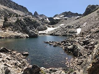 First Tarn in Goat Lake Drainage
