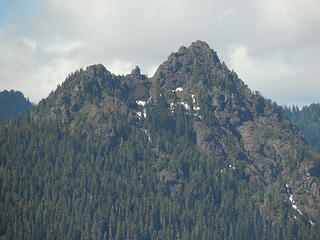 Mt Church from Chapel Peak summit