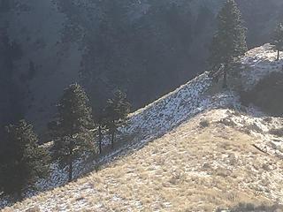 Steeper slope