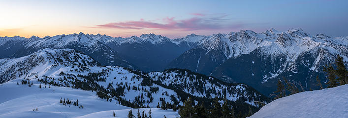 North Cascades panorama