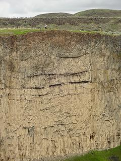 Cliff at Palouse Falls.