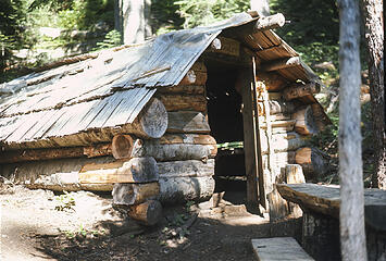 Bishop's Chalet on the Cascade Pass Trail 1969