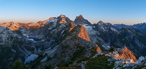 Sunrise from Trappers Peak