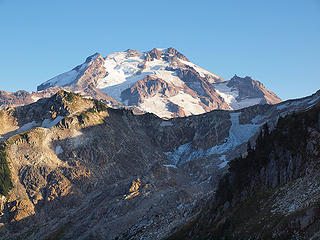 Glacier Peak Rising Above Point 6698'