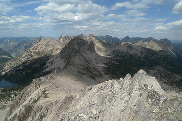Looking North from Reward Peak