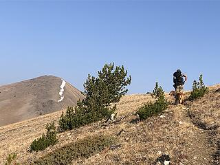 Gray Peak ahead