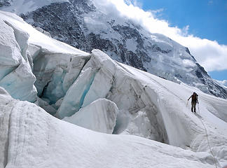 Seracs In The Second Icefall