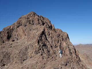 Drew heads to summit block