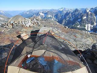 Sahale Glacier camp overnight 036
